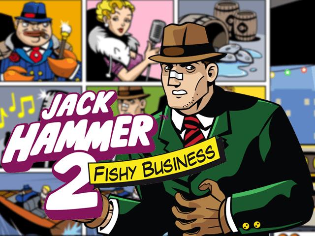 Jack Hammer 2: играйте в виртуальный автомат от бренда Netent