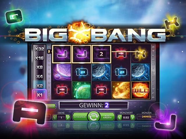 Виртуальная азартная игра Большой Взрыв