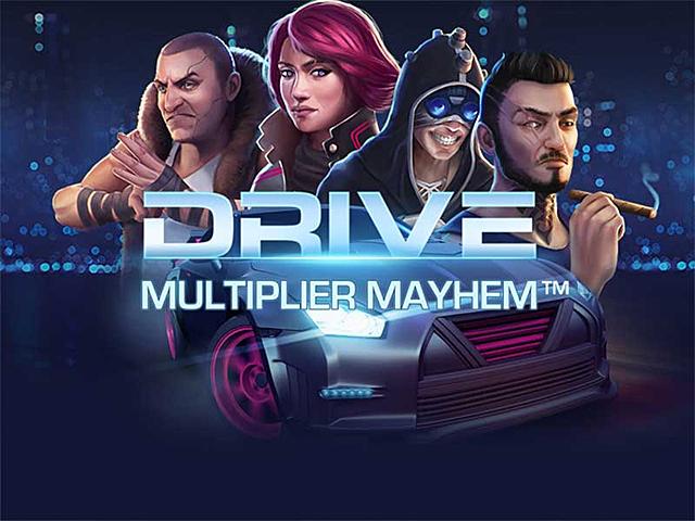 Автомат Drive: Multiplier Mayhem позволяет выигрывать крупные суммы