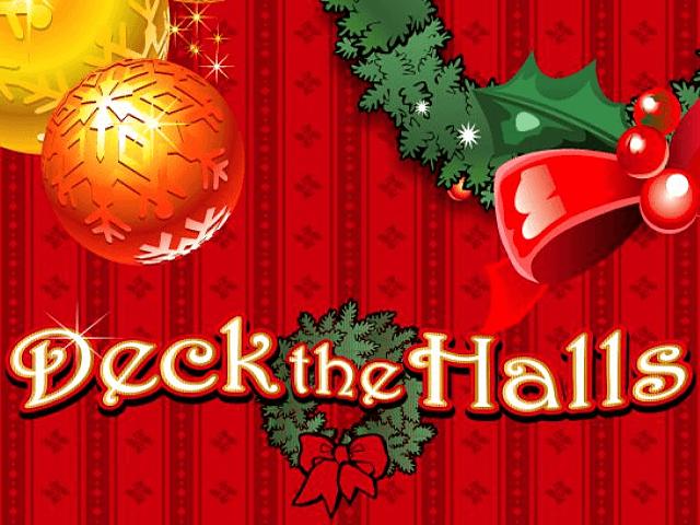 Получайте бонусы автомата Deck The Halls: играйте онлайн