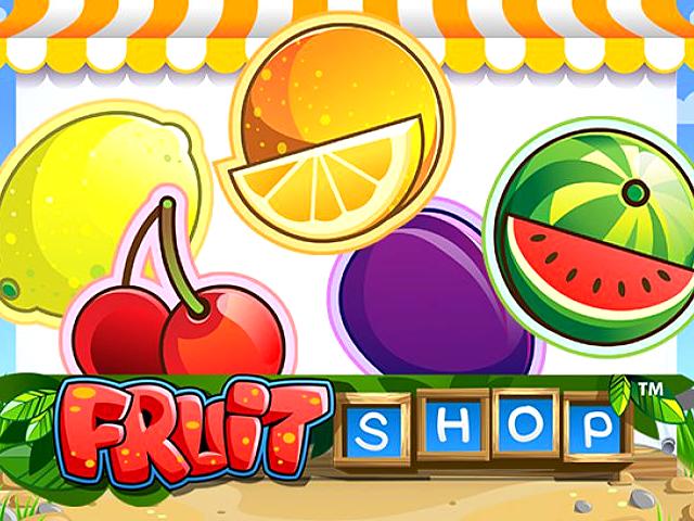 Играйте в автомат Fruit Shop, получая бонусы