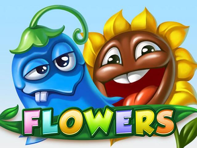 Игровой слот Flowers